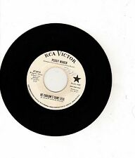 LITTLE PEGGY MARCH-HE COULDN'T CARE LESS-RCA VICTOR DJ 45 NM