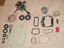 YAMAHA YZ 125 ENGINE REBUILD KIT GASKET BEARINGS PISTON CRANKSHAFT 1996 MOTOR