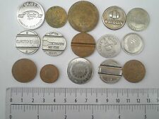 TOKEN COIN Germany AAC,Greece,Italy telephone,caffe,autobus,Exit Fest,lottery Yu