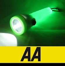 AA LED Torch Lamp 4 Way Light Flashing Handle Flashlight with Clip Trendy#725570