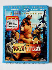 Brother Bear 1 & 2 Two Movie Collection Blu-ray DVD Eng. Fre. Spa. No Slipcover