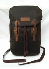 BNWT Barbour Wax Leather Backpack (Olive) RRP £149.95