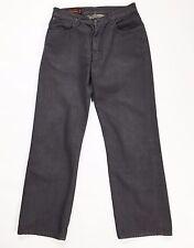 Marlboro Classics W34 L34 tg 48 jeans straight usato gamba dritta blu viola T998