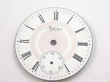 Vintage Perfection Pink & White 42.2mm Watch Dial for Pocket Watches New Ol Stck