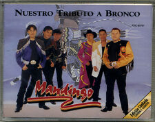 MANDINGO * Double CASSETTE * Nuestro Tributo a Bronco * New Sealed Double TAPE