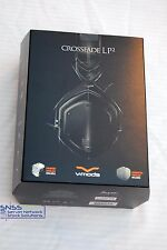 V-MODA LP2 Crossfade Noise Isolating Metal Headphones Matte Black XFL2V-U-MBLACK