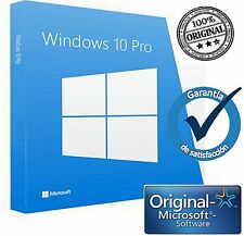 WINDOWS 10 PRO ( ORIGINAL NEW KEY )  (32/64 Bits)   FOR  1 PC MULTILENGUAJE