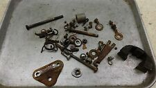 1974 yamaha rd60 Y333-4~ misc hardware nuts bolts ect
