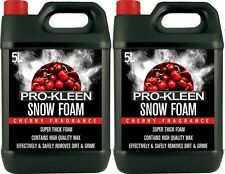 SNOW FOAM CAR SHAMPOO WAX VEHICLE WASH VALET CLEANING SHINE CHERRY SCENT