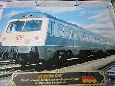 Lokarchiv Triebwagen 166 BR 628.0 Begründer der 628 Familie DB 1974