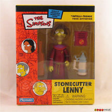 The Simpsons Stonecutter Lenny 2003 exclusive mail-away action figure Playmates