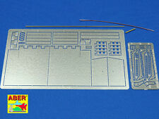 1/16 ABER 16039 REAR FENDERS for TIGER II for TAMIYA & TRUMPETER Kits