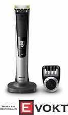 Philips QP6520/20 OneBlade Pro Trimmer Black / Silver LED Display Genuine New
