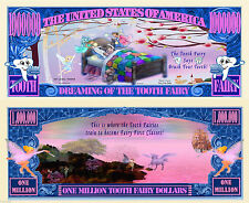 Tooth Fairy Million Dollar Novelty Collector Bill Note
