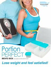 Portion Control Lunch Box by Laptop Lunches - Bento Box + Portion Guide -NEW