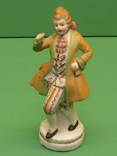 Occupied Japan figurine Dancing man in bisque 6.5 inches tall