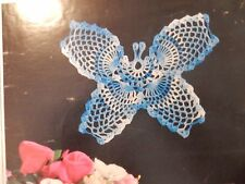 1985 Magic Crochet Doilies Table Covers Butterfly Potholders Morning Glory Tops