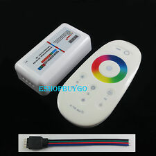 2.4G Touch RF Controller Dimmer LED RGB Remote Wireless for RGB Light Strip