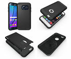 Compact Slim Grip Shockproof Heavy Duty Black Back Case Cover for Various Phones
