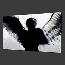 BANKSY ANGEL CANVAS WALL ART PICTURES PRINTS 30 x 20 Inch FREE UK P&P