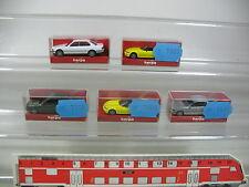 AK990-0,5# 5x Herpa H0 AUTOVETTURA BMW: 031929 528i '95+021647 740i+021937 Z3,W+