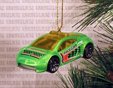 PACE CAR MITSUBISHI ECLIPSE CONCEPT CAR GREEN CHRISTMAS ORNAMENT XMAS