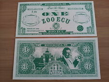 "U2 ""ZOOROPA 93"" ununsed ZOO ECU Banknote of ZOO"