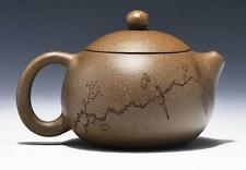 Chinese handmade Yixing xishi tea pot zisha duan clay Gongfu teapot sculpture