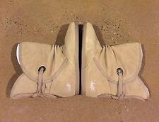 DVS Shiloh Woman's Size 10 Tan Suede Snow Winter BMX Skate Sneaker Boots
