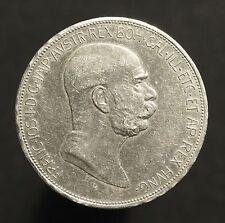 Ksr. Österreich, 5 Kronen 1908 auf das 60. Regierungsjubiläum Franz Josef I.