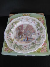 "ROYAL DOULTON BRAMBLY HEDGE 8""  OLD OAK PALACE  PLATE BONE CHINA 1st QUALITY BOX"