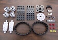 NEW LEGO TANK PARTS LOT (Build Army Tank, ATV, Tractor or Construction vehicle)