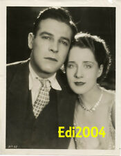 NORMA SHEARER Vintage Original Photo Lovely Couple 1920s RARE Early Film Actress