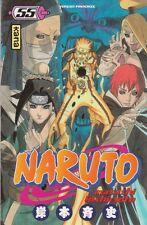 NARUTO tome 55 Kishimoto MANGA shonen