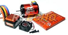 SKYRC CHEETAH 2590KV 13.5T Sensored Brushless Motor & CS60 60A ESC Combo ME640