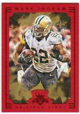 2015 Panini Gridiron Kings Framed Parallel Red Frame #2 Mark Ingram Saints