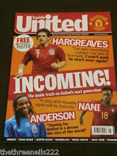 MANCHESTER UNITED - HARGREAVES - NANI - ANDERSON - AUG 2007