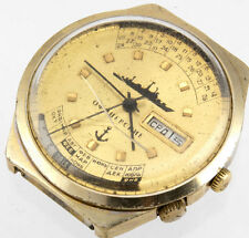 RAKETA Perpetual Calendar USSR VTG Retro Big Dial Watch R 2628 Officer warship
