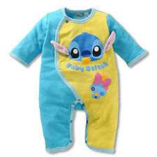 Newborn Baby Boy Animal Bodysuit Outfit Costume Romper Cotton Clothes 9-12M 7