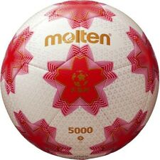 Molten Soccer football Emperor's Cup Match Ball F5E5000 White Pink 5 Japan Rare