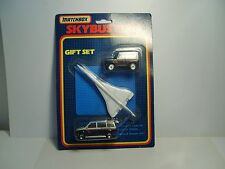 matchbox skybusters sb-150 gift set rare british airways concorde moc sealed.