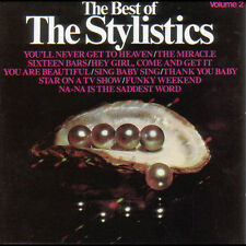 The Best of The Stylistics Vol. 2, NEW CD, Classic Soul