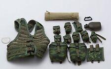 1/6 Dam Russian Airborne PKP Machine Gunner Flora 6SH112 Vest Pouch Set *TOY*