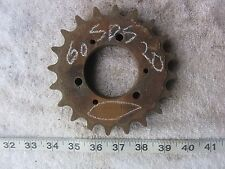 60SDS20 #60 20T Sprocket, Used