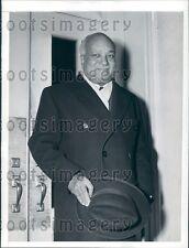 1942 Haiti President Elie Lescot  Press Photo