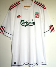 "EX! Liverpool FC 2008/2009/2010 XXL 50 - 52"" WHITE 3rd Away Shirt ADIDAS"
