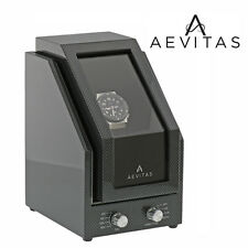 Brand New Watch Winder for 1 Watch Carbon Fibre Finish with Black Velvet interio