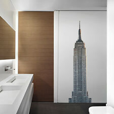 ATWS33 - THE EMPIRE STATE BUILDING PHOTO WALL STICKER LARGE REMOVABLE WALL DECAL