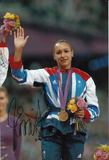 Jessica Ennis Hand Signed 12x8 Photo London Olympics 2012 Gold Medalists 1.