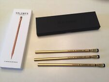 3 LIMITED SPECIAL EDITION PENCILS, BLACKWING VOLUMES #530 GOLD RUSH